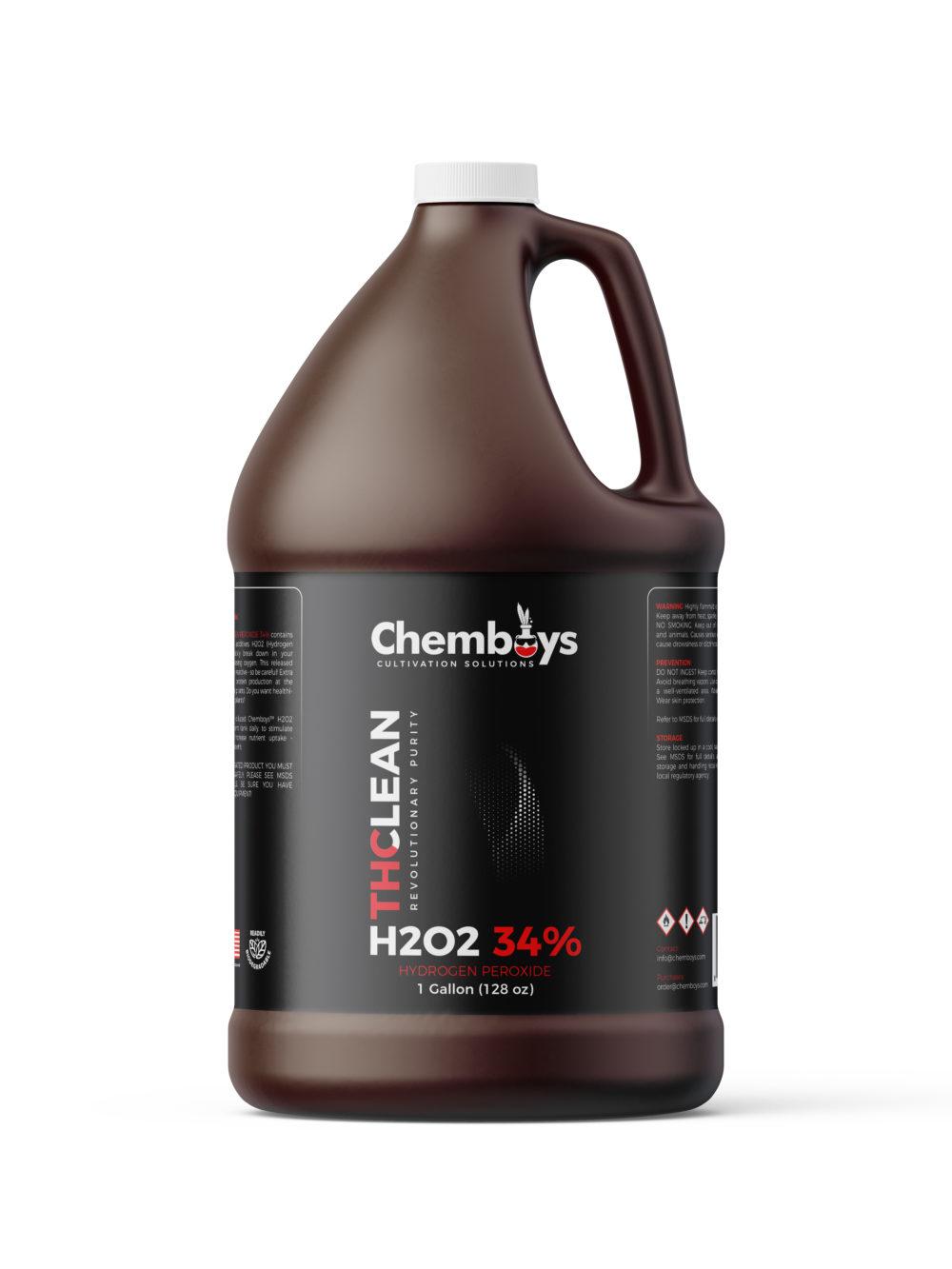 1 Gallon of 34.0% pure H2O2