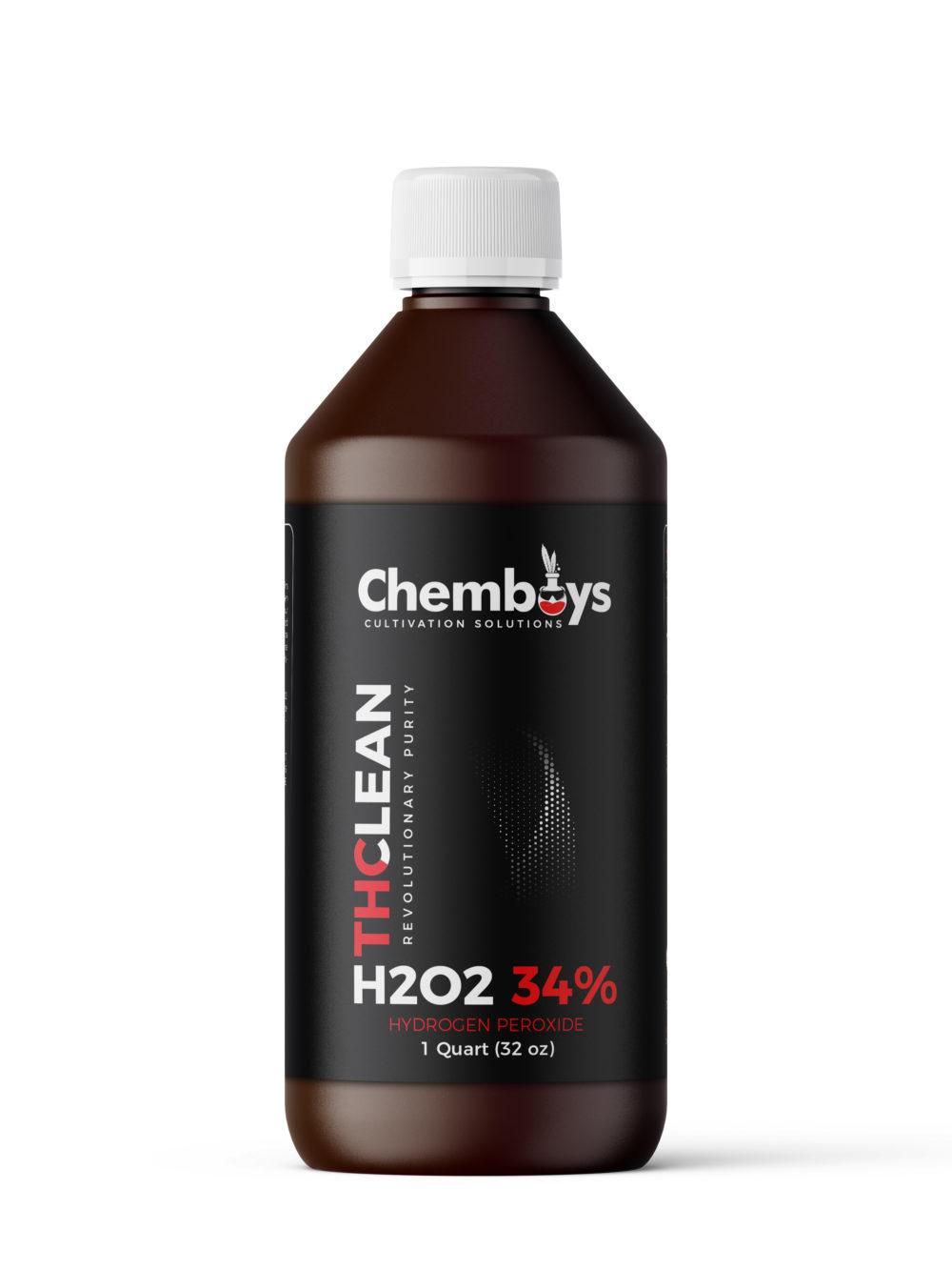 1 Quart of 34.0% H2O2