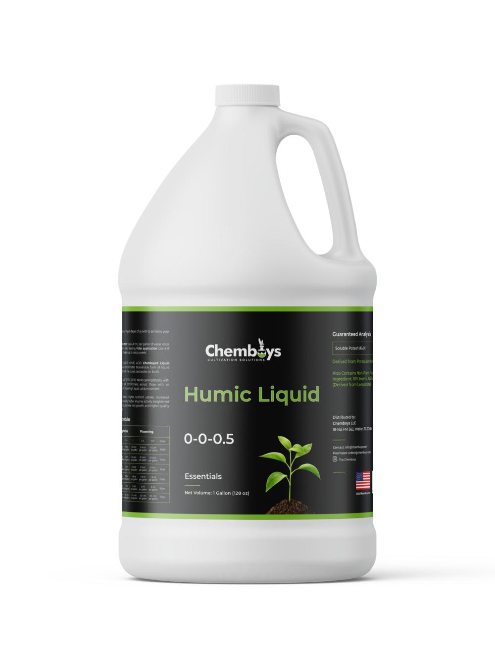 10% Humic Liquid Gallon Bottle