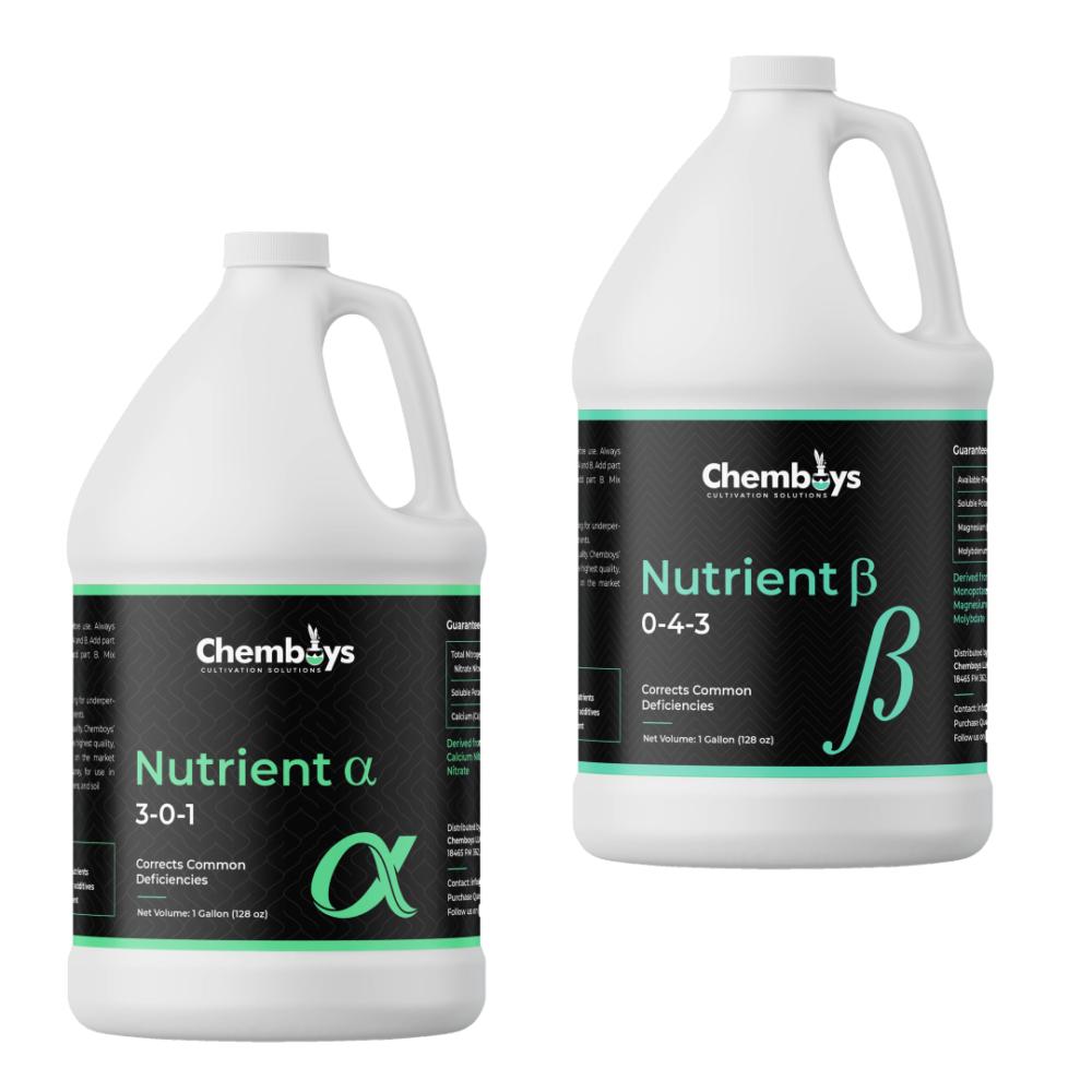 Alpha Beta Nutrient Combo Pack - gallon bottles